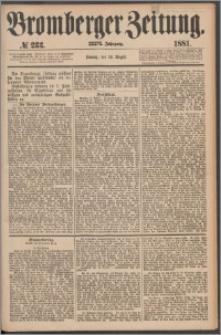Bromberger Zeitung, 1881, nr 233