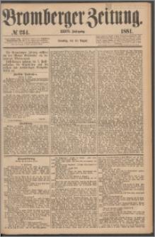Bromberger Zeitung, 1881, nr 234