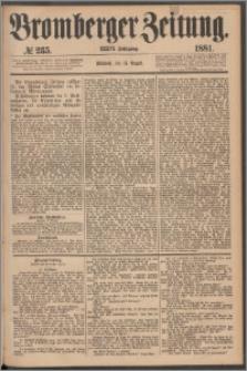 Bromberger Zeitung, 1881, nr 235