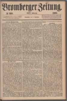 Bromberger Zeitung, 1881, nr 238