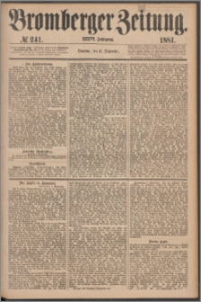 Bromberger Zeitung, 1881, nr 241