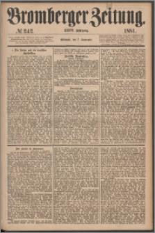 Bromberger Zeitung, 1881, nr 242