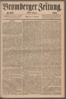Bromberger Zeitung, 1881, nr 247
