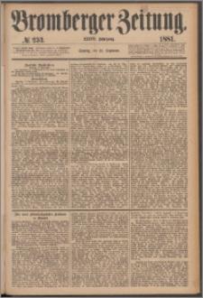 Bromberger Zeitung, 1881, nr 253