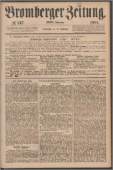 Bromberger Zeitung, 1881, nr 257