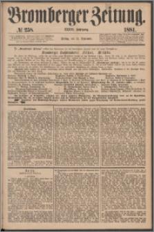 Bromberger Zeitung, 1881, nr 258