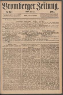 Bromberger Zeitung, 1881, nr 261
