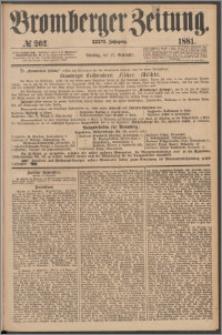 Bromberger Zeitung, 1881, nr 262