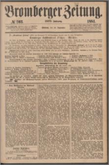Bromberger Zeitung, 1881, nr 263