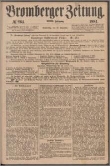 Bromberger Zeitung, 1881, nr 264