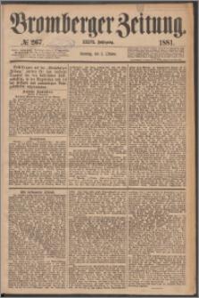 Bromberger Zeitung, 1881, nr 267