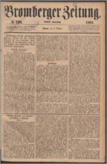 Bromberger Zeitung, 1881, nr 268