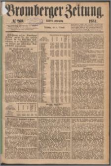 Bromberger Zeitung, 1881, nr 269