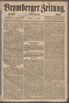 Bromberger Zeitung, 1881, nr 270