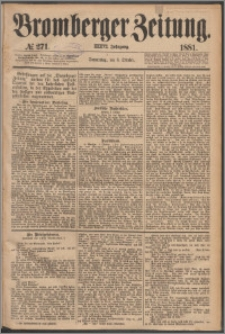 Bromberger Zeitung, 1881, nr 271