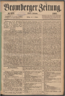 Bromberger Zeitung, 1881, nr 272