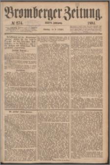 Bromberger Zeitung, 1881, nr 274