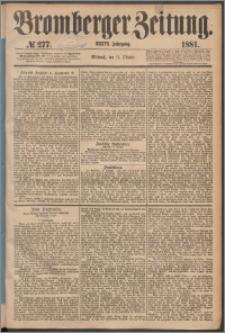 Bromberger Zeitung, 1881, nr 277