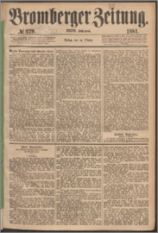 Bromberger Zeitung, 1881, nr 279