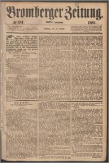 Bromberger Zeitung, 1881, nr 281