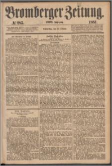 Bromberger Zeitung, 1881, nr 285