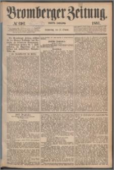 Bromberger Zeitung, 1881, nr 292