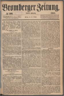 Bromberger Zeitung, 1881, nr 293