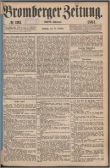 Bromberger Zeitung, 1881, nr 295