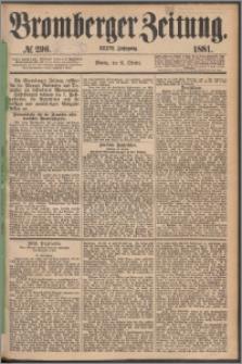 Bromberger Zeitung, 1881, nr 296
