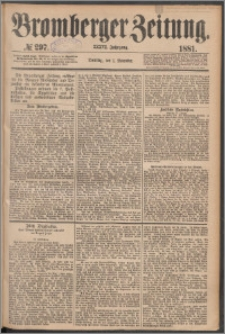 Bromberger Zeitung, 1881, nr 297