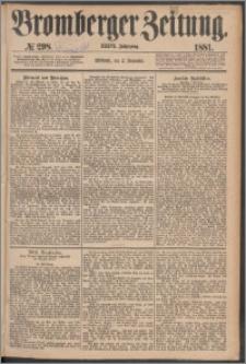 Bromberger Zeitung, 1881, nr 298
