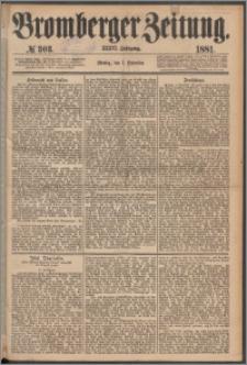 Bromberger Zeitung, 1881, nr 303