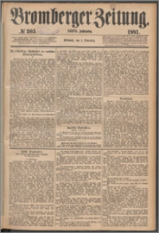 Bromberger Zeitung, 1881, nr 305