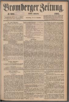 Bromberger Zeitung, 1881, nr 306