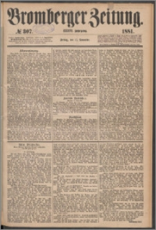 Bromberger Zeitung, 1881, nr 307