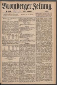 Bromberger Zeitung, 1881, nr 308