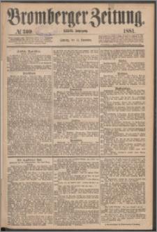 Bromberger Zeitung, 1881, nr 309