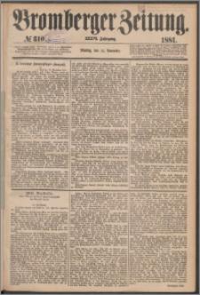 Bromberger Zeitung, 1881, nr 310