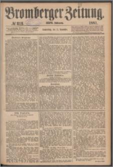 Bromberger Zeitung, 1881, nr 313