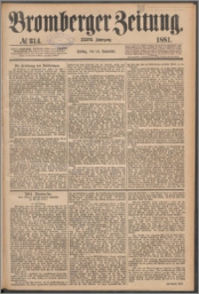 Bromberger Zeitung, 1881, nr 314