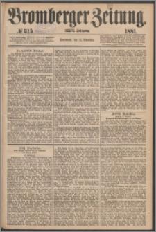 Bromberger Zeitung, 1881, nr 315