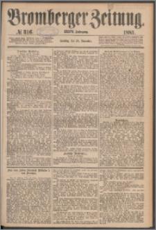 Bromberger Zeitung, 1881, nr 316