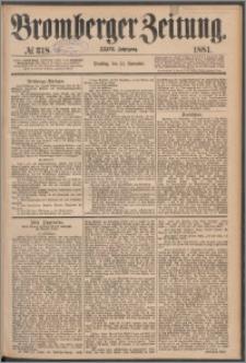 Bromberger Zeitung, 1881, nr 318