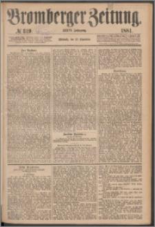 Bromberger Zeitung, 1881, nr 319
