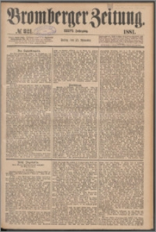 Bromberger Zeitung, 1881, nr 321