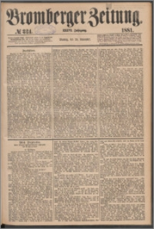 Bromberger Zeitung, 1881, nr 324