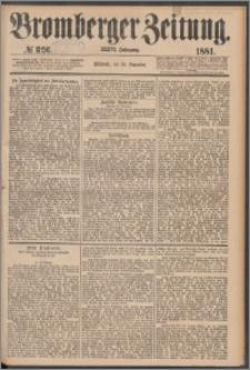 Bromberger Zeitung, 1881, nr 326
