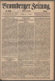 Bromberger Zeitung, 1881, nr 329
