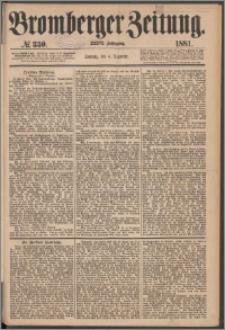 Bromberger Zeitung, 1881, nr 330