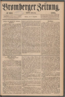 Bromberger Zeitung, 1881, nr 331